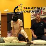 Fotos Shiatsu. Mastuko Namikoshi. Arturo Valenzuela. Maestros de shiatsu
