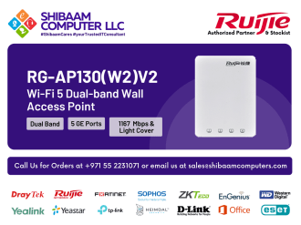 RG-AP130(W2)V2 | Ruijie Networks | Ruijie Switches, Ruijie Wireless, Ruijie Gateways, Ruijie Software, Ruijie Routers, Ruijie Cloud