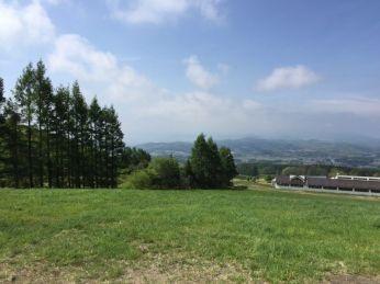磐梯山からの眺め