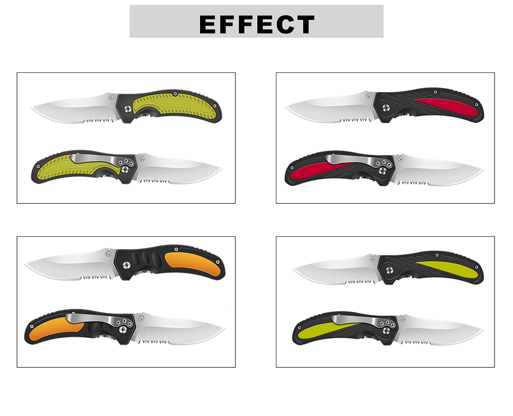 KSHIELD Cusom Knife Model Effect & Style