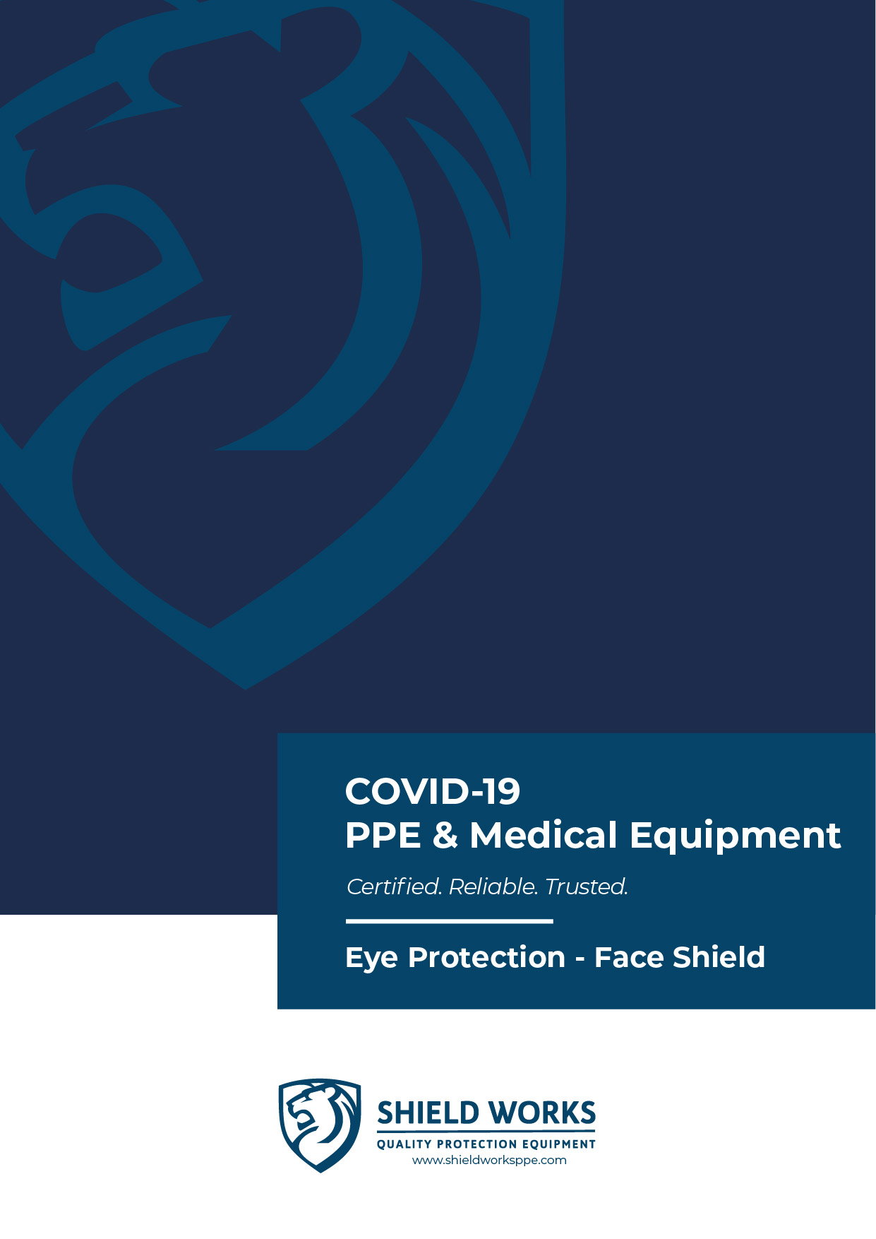 Shield Works_PPE Catalog Cover_Face Shield