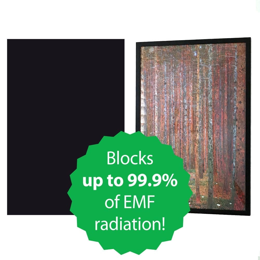 Poster Frame Liner to Shield Wireless EMF Radiation