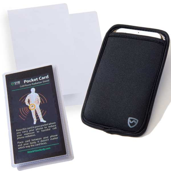 SYB Cell Phone EMF Radiation Protection Kit