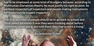 buckminster fuller earning a living