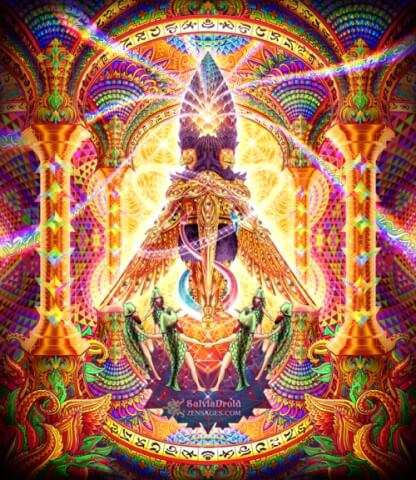 visionary art higher dimensions