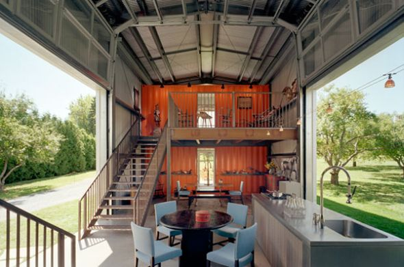 ShippingContainerOffGridLiving