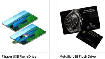 USB custom business cards