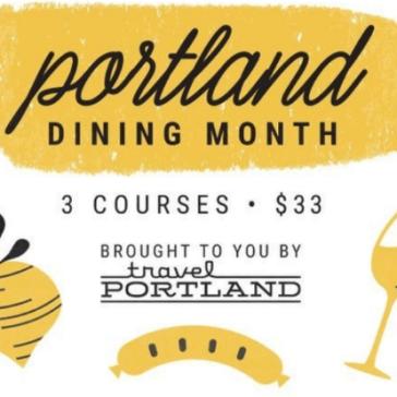 portland dining month, portland oregon, where to eat Portland,