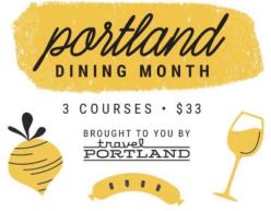 Portland Dining Month, Portland, Restaurants in Portland, Travel Portland