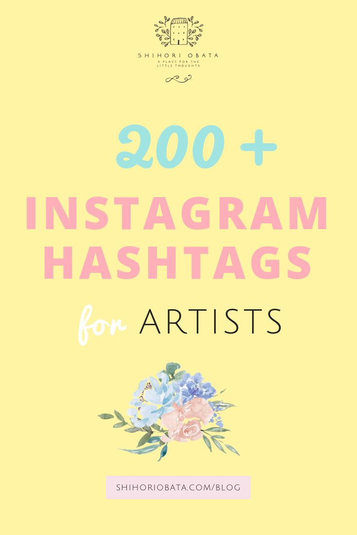 200 Instagram Hashtags for Artists and Creatives