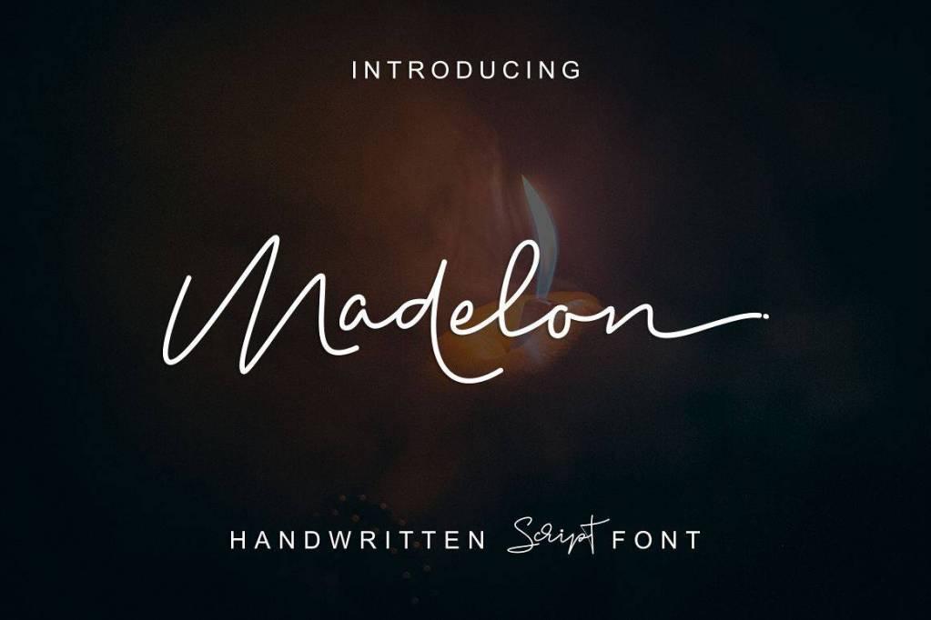 Madelon Handwritten Script Font Free