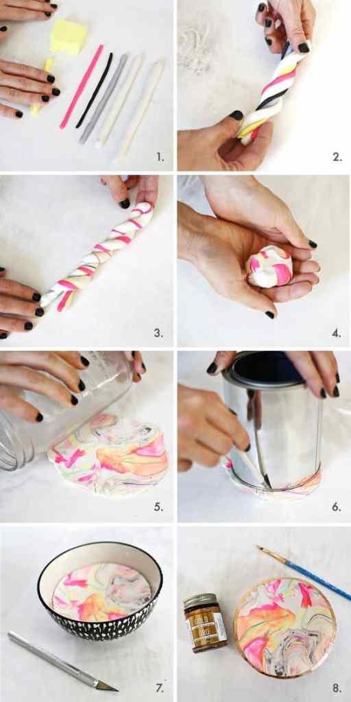 Marbled DIY Trinket Dish