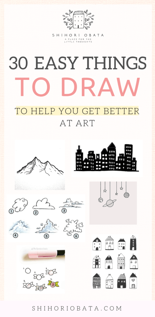 30 Cool Easy Things To Draw To Get Better At Art