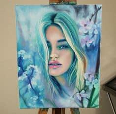 Lena Danya Painting