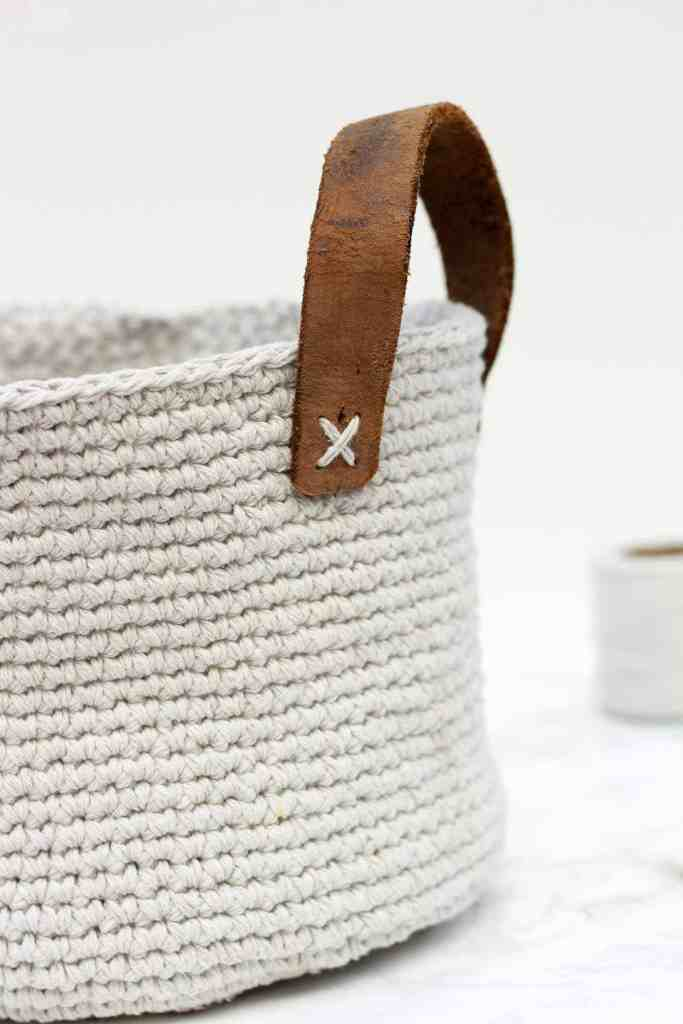 Crochet Basket - DIY Crafts to Make and Sell