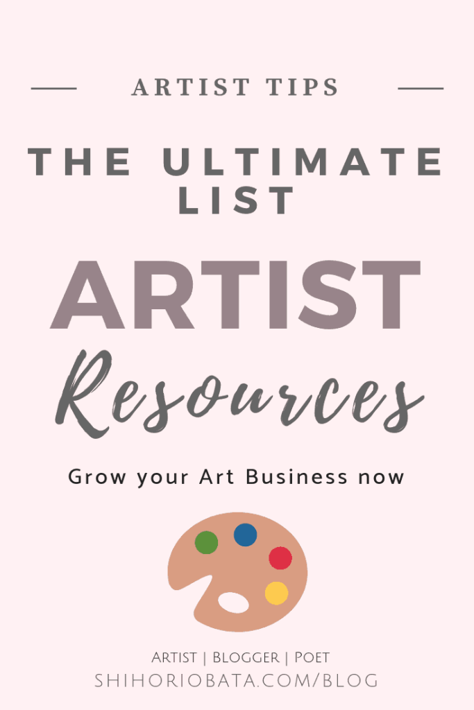 Artist Resources and Tools for Running an Art Business