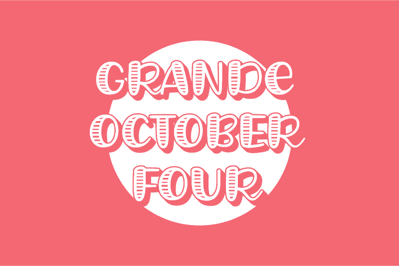 Free Handwritten Font - Grande October Four