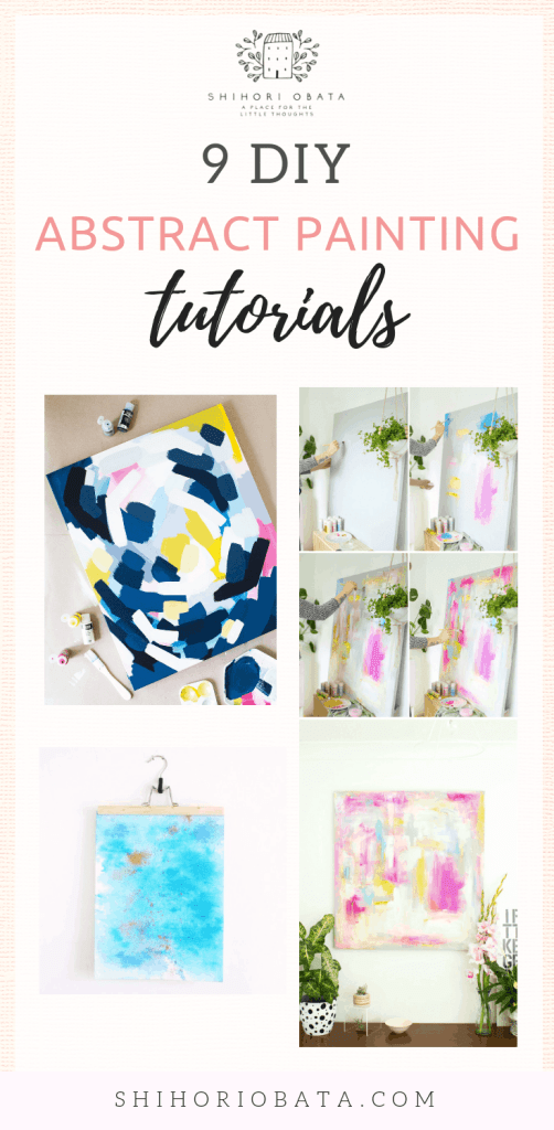 DIY Abstract Painting Tutorials