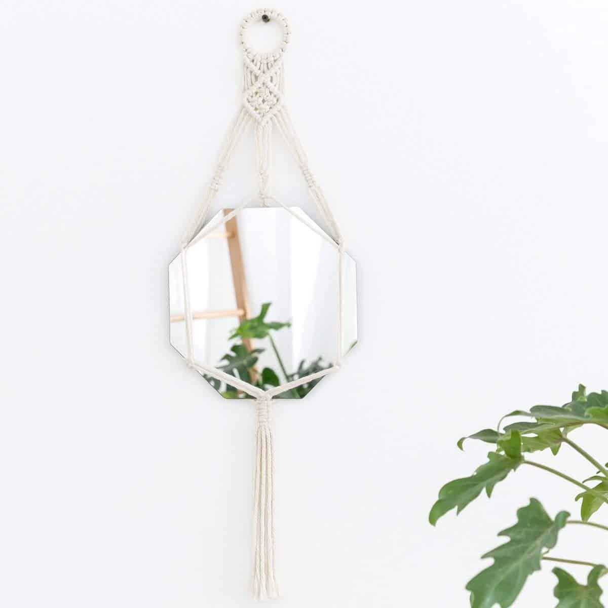 Macrame Mirror - Home Decor Ideas Amazon