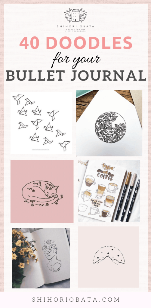 Easy Things to Draw for your Bullet Journal #doodles #bulletjournal