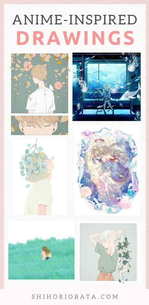 Anime Drawings and Illustration Inspiration #anime #drawings #art