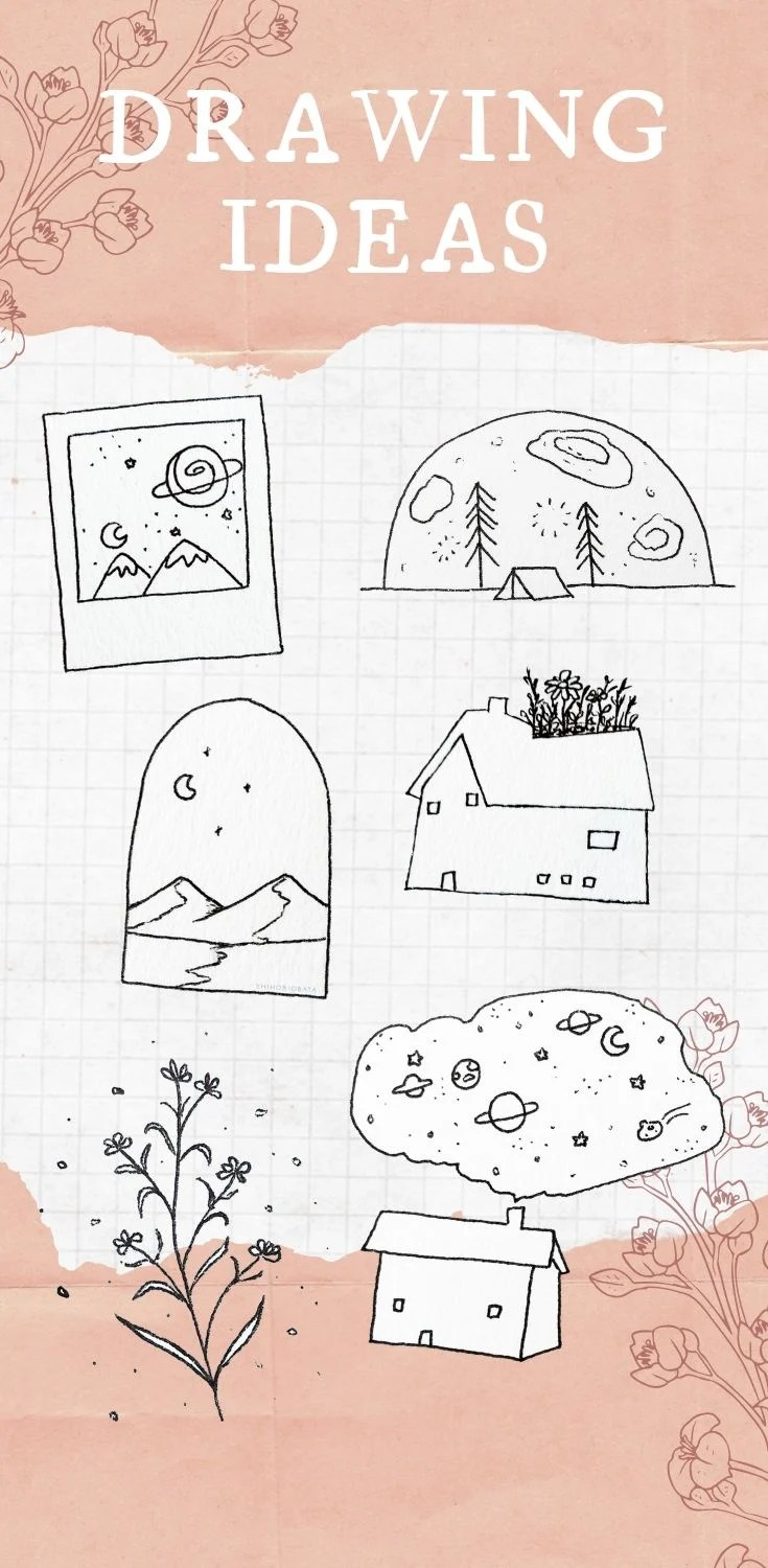 15 Beautiful Easy Drawing Ideas