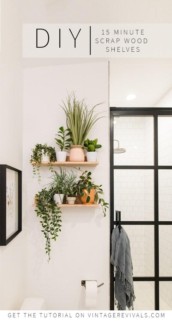 DIY Shelf for Home