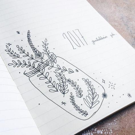 Botanical Leaf Drawing Ideas