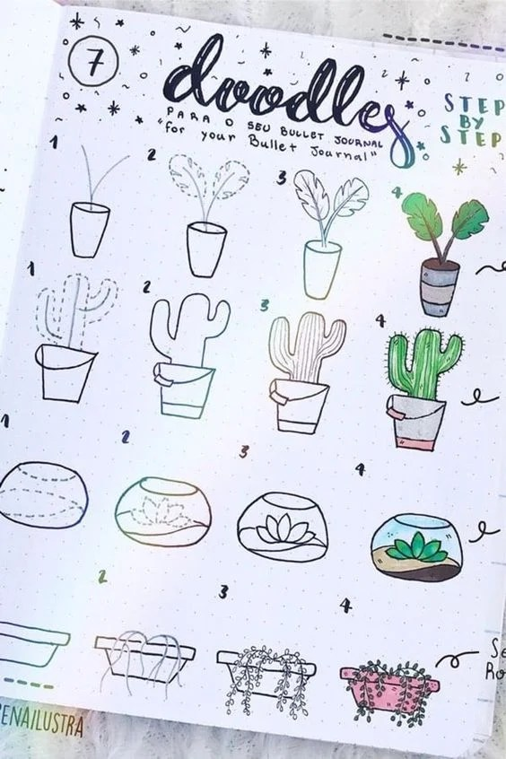 Cute and easy drawing ideas