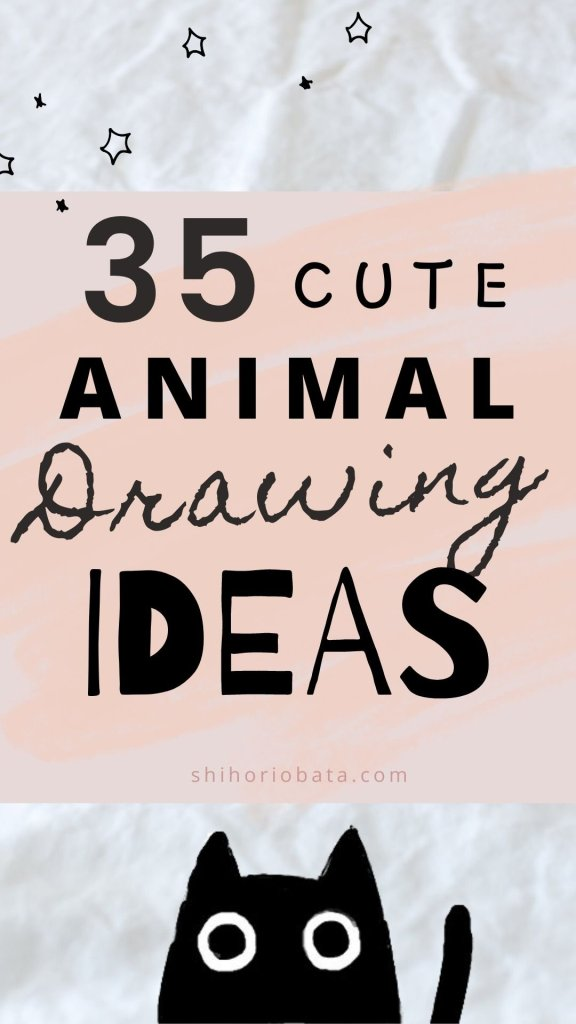 35 easy Animal Drawing Ideas