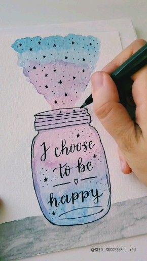 Easy Simple Watercolor Art Ideas