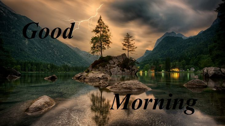 Beautiful good morning images with nature