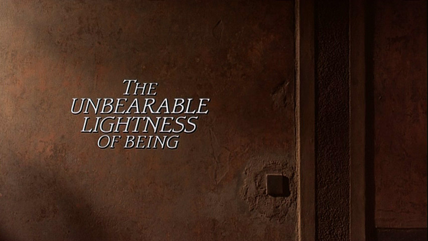 Unbearable Lightness Being