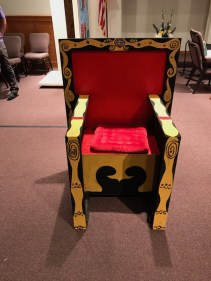 The King's throne