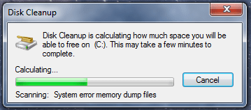 windows 7 tips disk cleanup