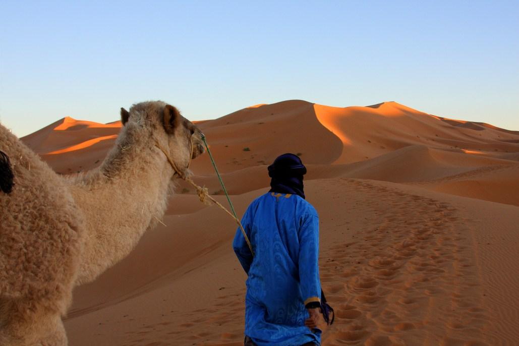 A young Bedouin guide in Mergouza