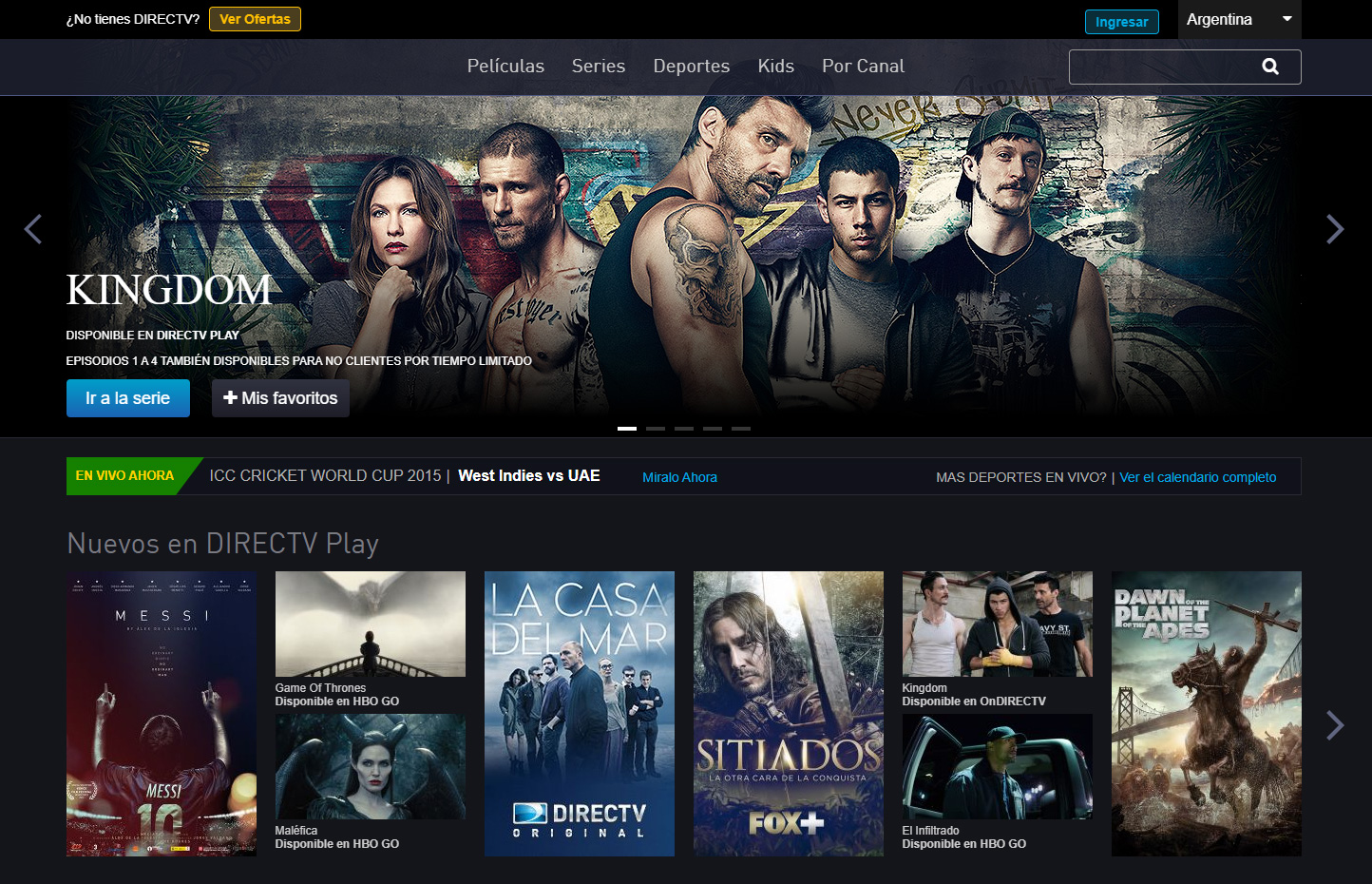 DIRECTV Play Preview