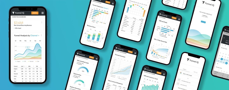 FunnelIQ Mobile Designs