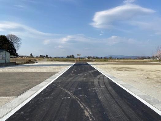 分譲地内の新設道路 R2.4撮影