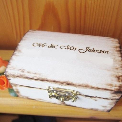 wedding ring box sample