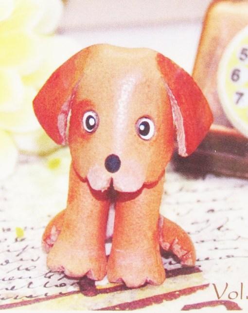 diy leather kerying dog