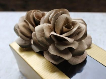 tissue roll flower
