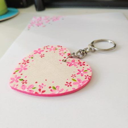 kids party gift personalised keyring keychain