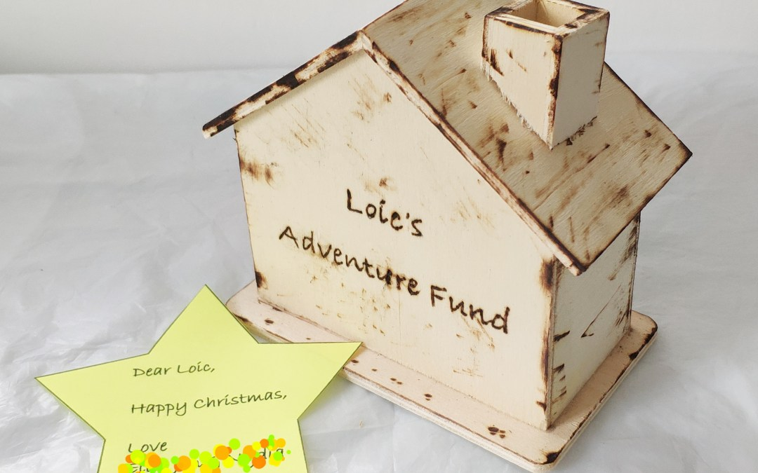 House Money Box – Let kids design