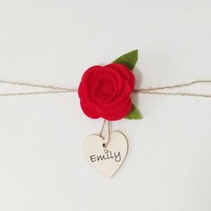 napkin ring gift tag