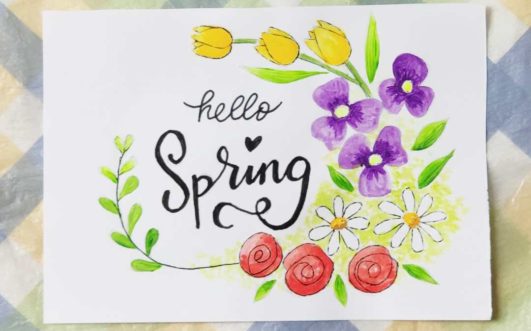 Free Printable Floral Coloring – hello spring