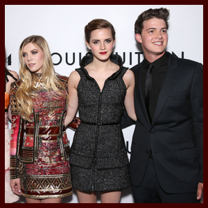 Emma Watson Steps Out for 'The Bling Ring' Premiere