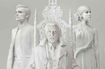 Peeta and Johanna Join with President Snow for Unity Message – Watch Now!