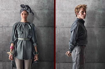Finnick, Effie & More Get District 13 Mockingjay Posters