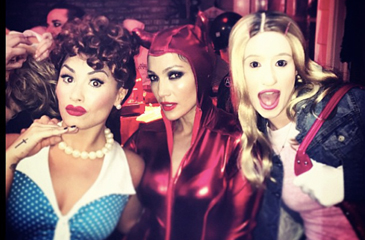 Demi Lovato, Taylor Swift, R5 & More Rock Awesome Halloween Costumes